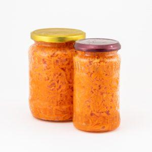 Bio fermentált sárgarépa - Rózsa Imre biogazda