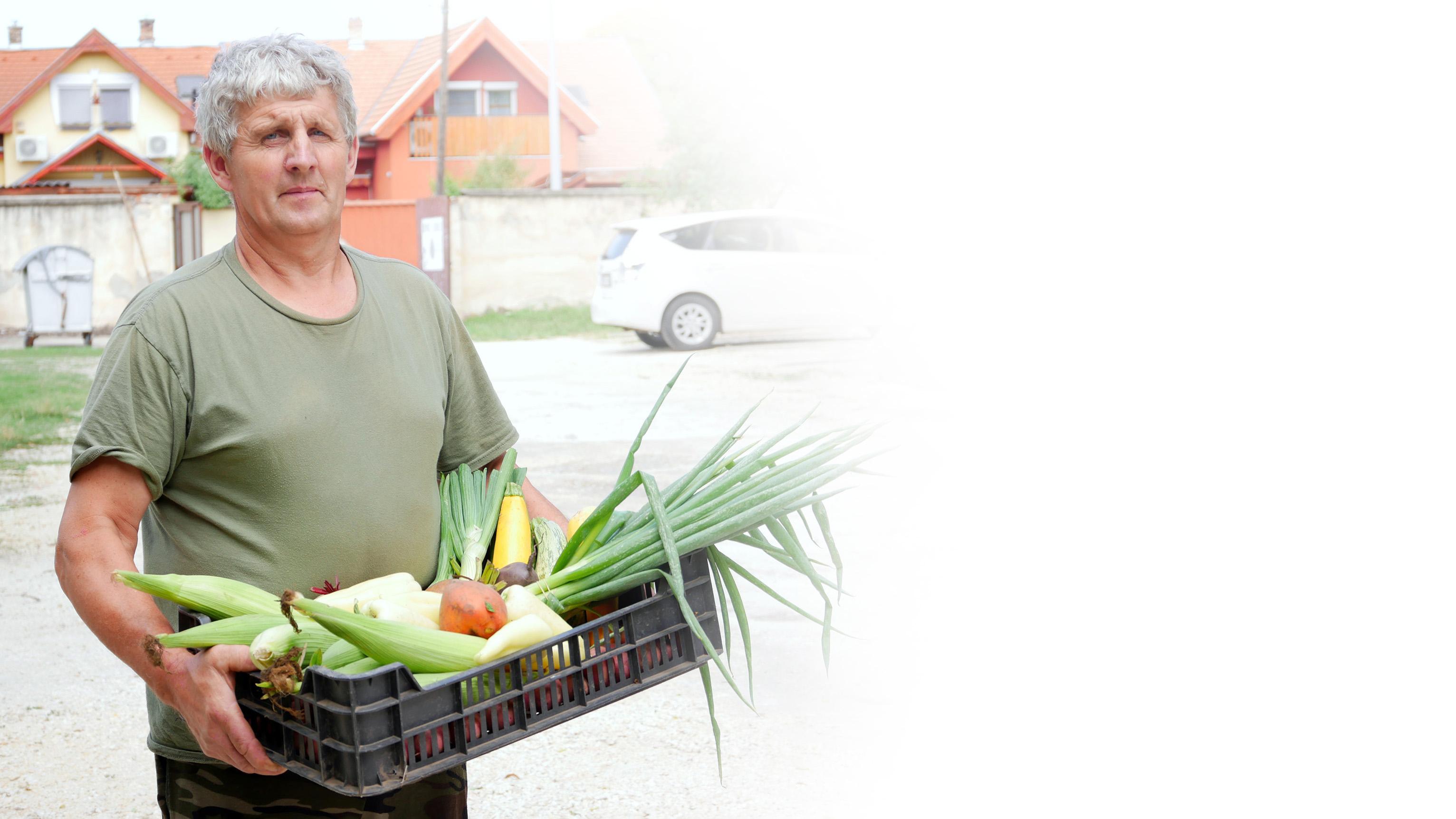 Rózsa Imre biogazda
