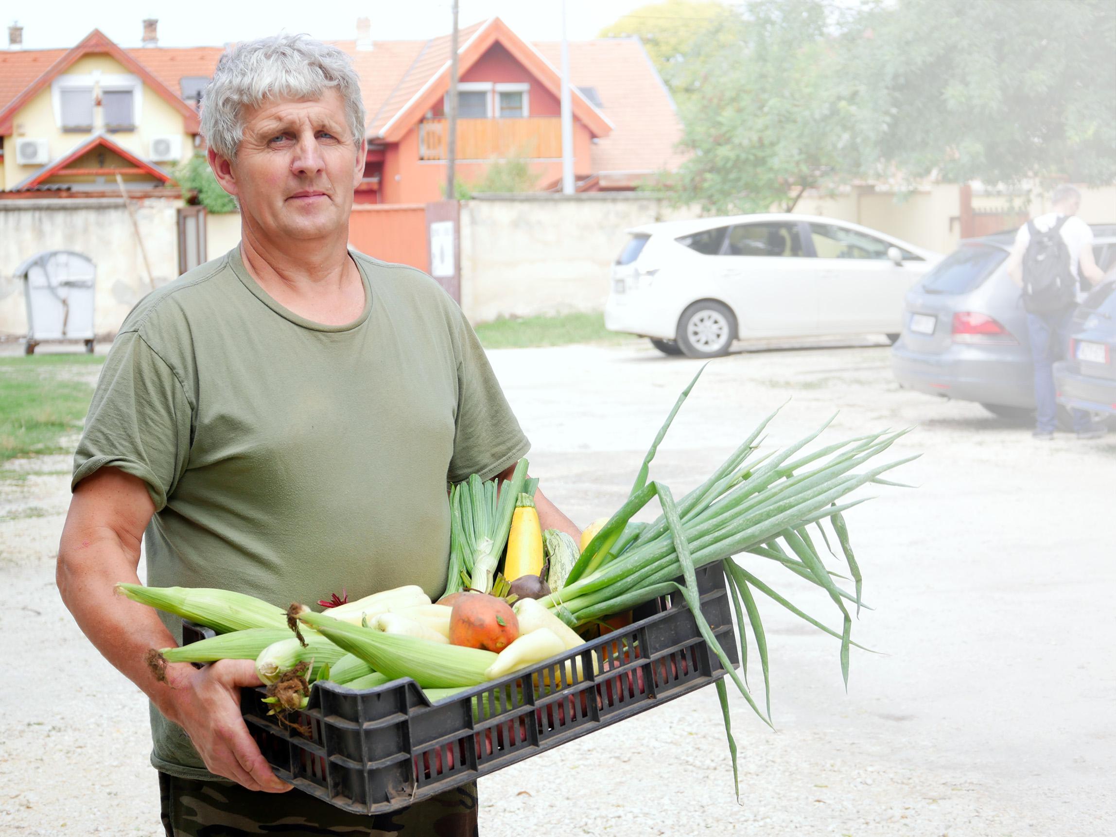 Rózsa Imre biogazda, őstermelő - BioRózsa